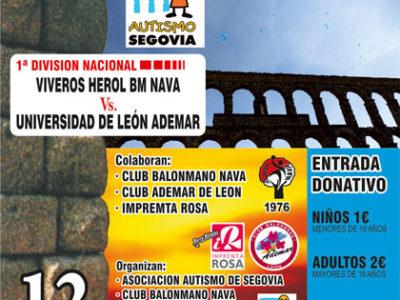 Partido benéfico a favor de Autismo Segovia