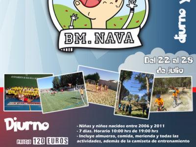 10º Campus de iniciación Balonmano Nava