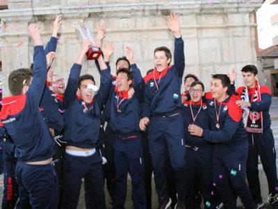 Celebración Campeones De CYL Juveniles Masculino 24-3-19