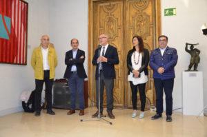 Recibimiento en Ministerio de Cultura y Deporte