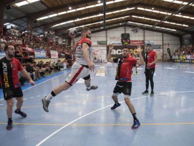 Club Balonmano Nava Celebración ascenso ASOBAL