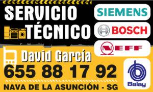 Servicio Ténico David García