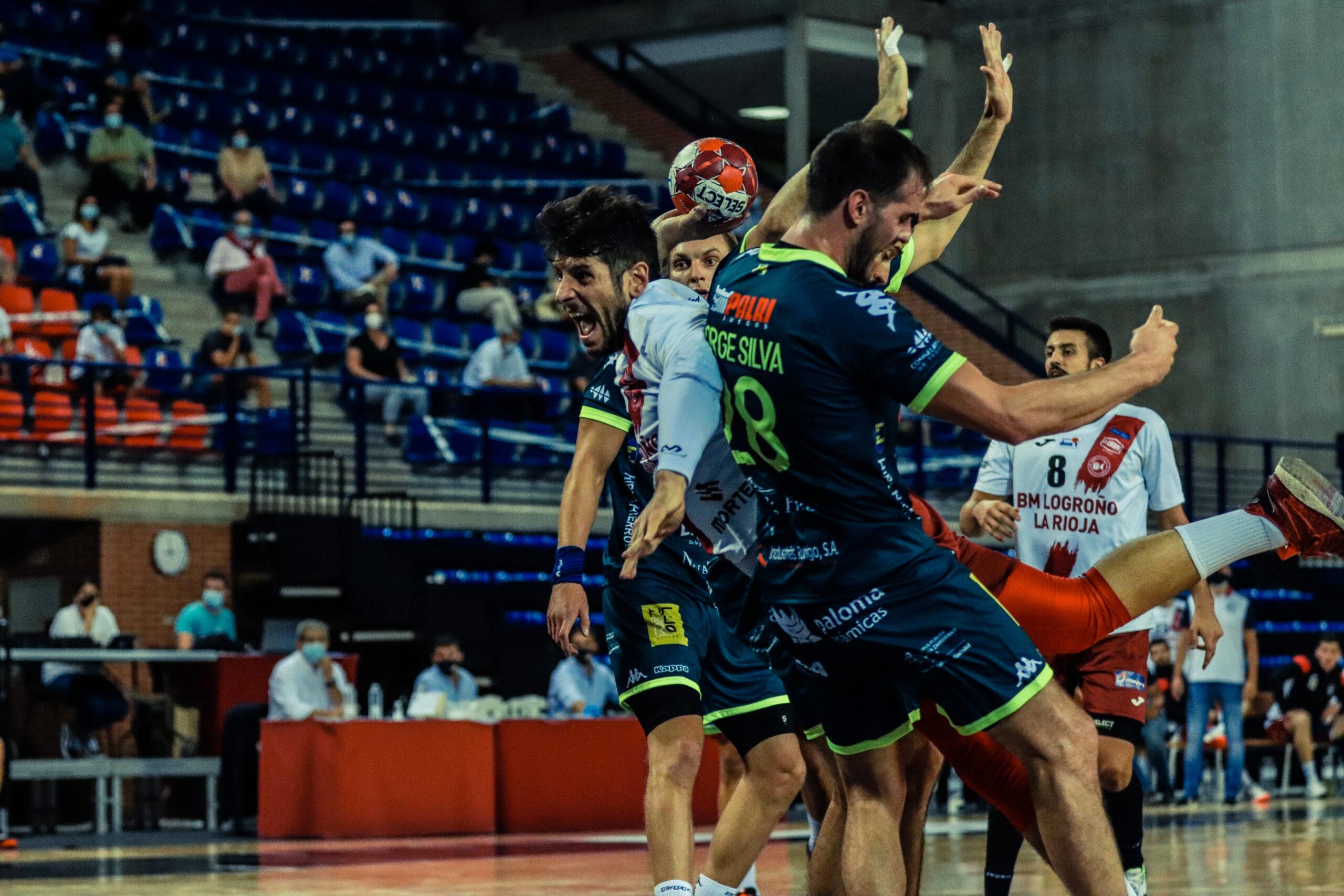 Jorge Silva vs Logroño / Foto: Noelia Quero