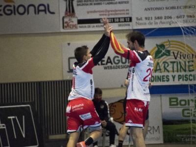 Nicoló y Jorge Silva celebrando un gol / Foto: Dani Pérez