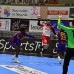 Filipe Mota ante el Barça / Foto: Dani Pérez